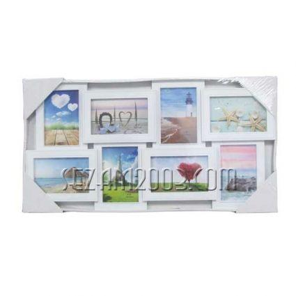 Рамка за снимки / пано стенна - 8-ца -  от пластмаса