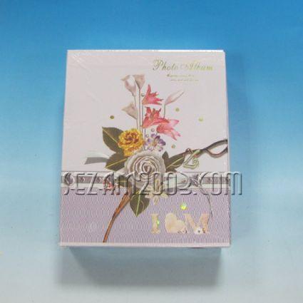 Фотоалбум с джоб за  40 снимки - цветя