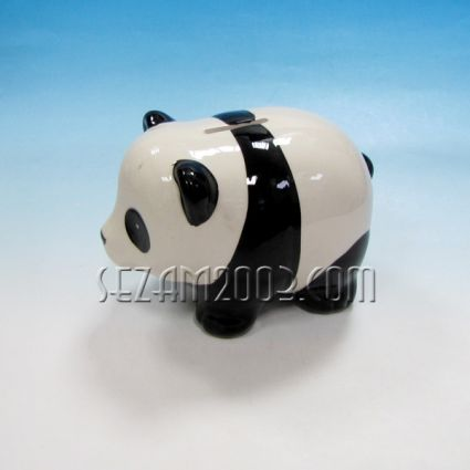 Panda - a ceramic money box