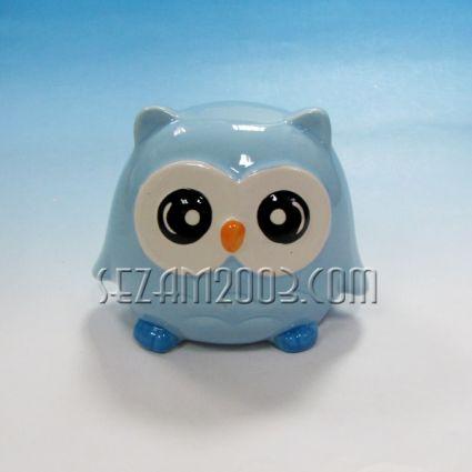 Owl - ceramic money box
