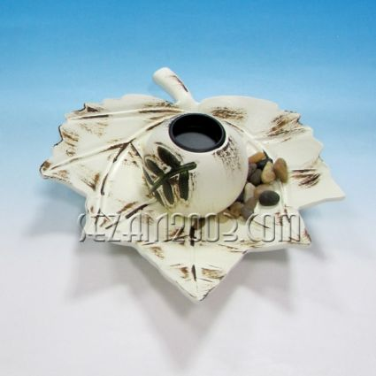 Candle holder made of MDF