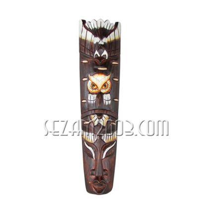 МАСКА за стена декорирана от дърво