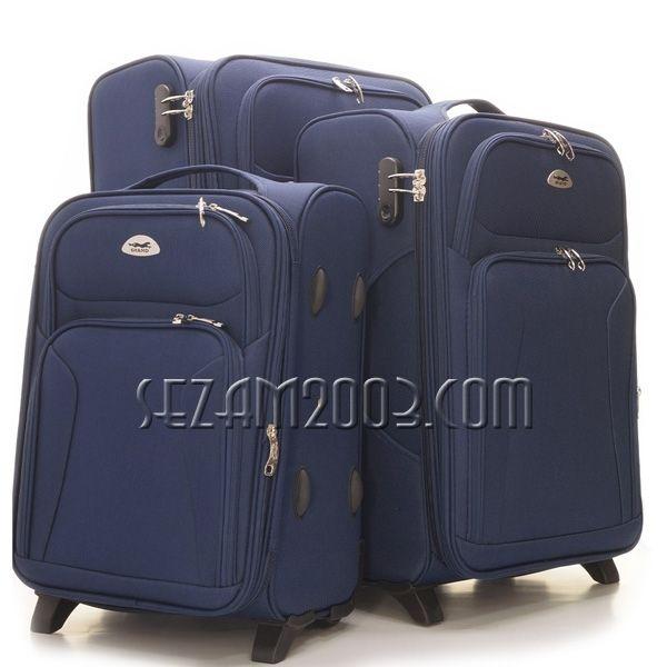 Set suitcases