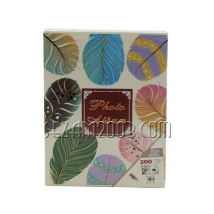 Албум от лукс картон за 80 снимки в джоб -  декор - ЛИСТА