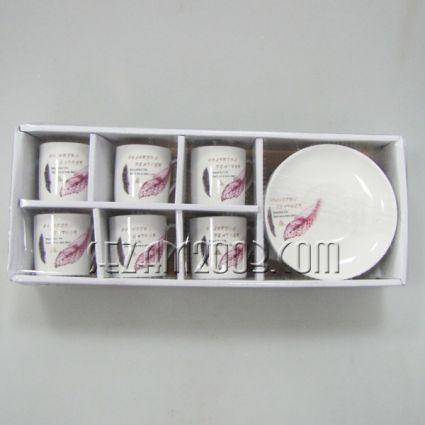 Сервиз за кафе 6чаши  + 6чинии в подаръчна кутия