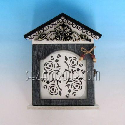 Кутия за ключове от дърво винтидж декор за стена