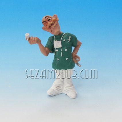 Зъболекар - забавна фигура от резин
