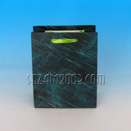 Подаръчна торбичка от лукс хартия декорирана