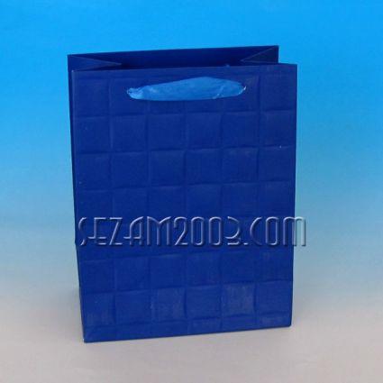 Подаръчна торбичка от лукс хартия - едноцветна