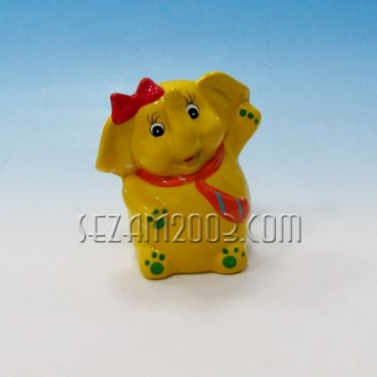 Elephant ceramic money box