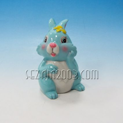 Bunny ceramic money box