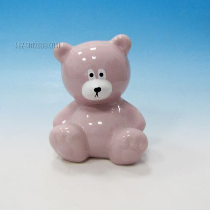 Bear ceramic money box