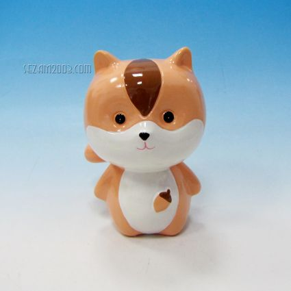 Fox ceramic money box