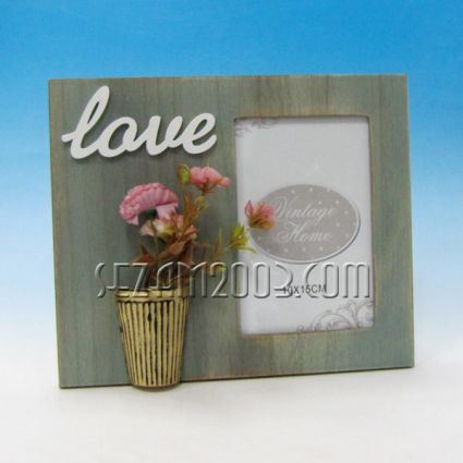 Photo frame decorated