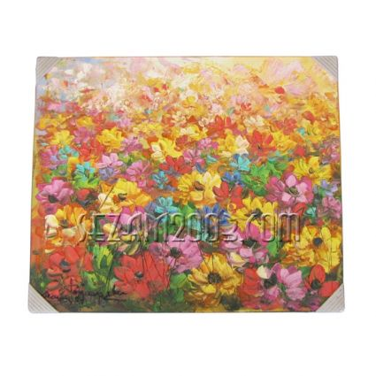 Flowers - oil painting hand-painted