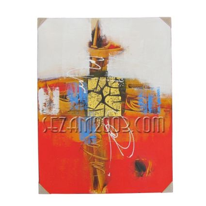Abstract - oil painting hand