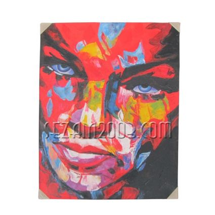Pop art - oil painting hand painted