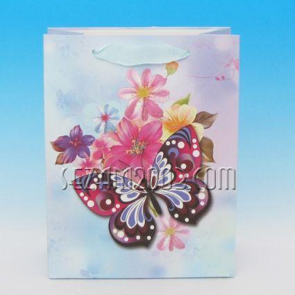 Luxury gift bag of paper + glitter