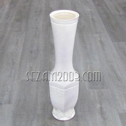 Ваза керамика нирвана бяла