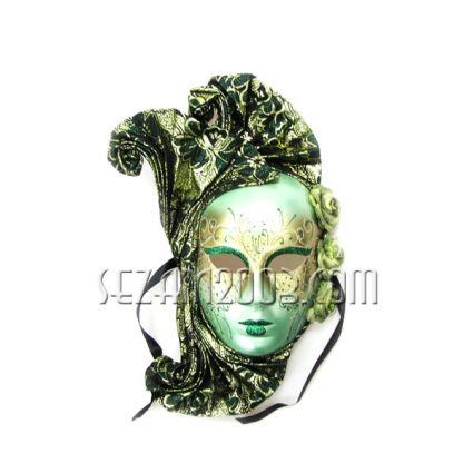 Венецианска маска -пластмаса и плат