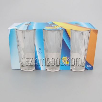 Water glass - 6 pcs. in the package