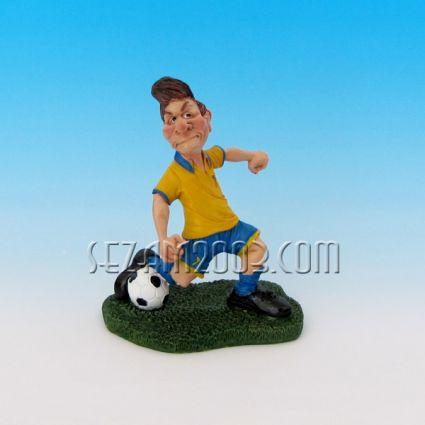Футболист - закачлива фигура от резин