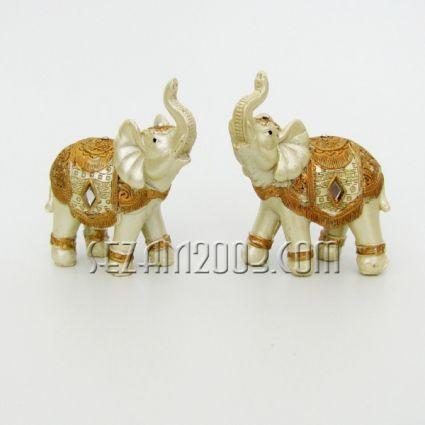 Elephant decorated