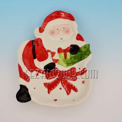 Плато / чиния  Коледна декорация от керамика