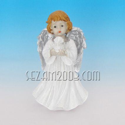 Ангелче с крила - фигурка от полирезин