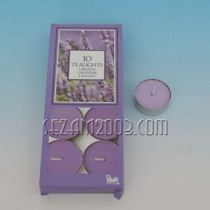 Ароматизирана чаена свещ - лавандула - 10 бр.в опаковка